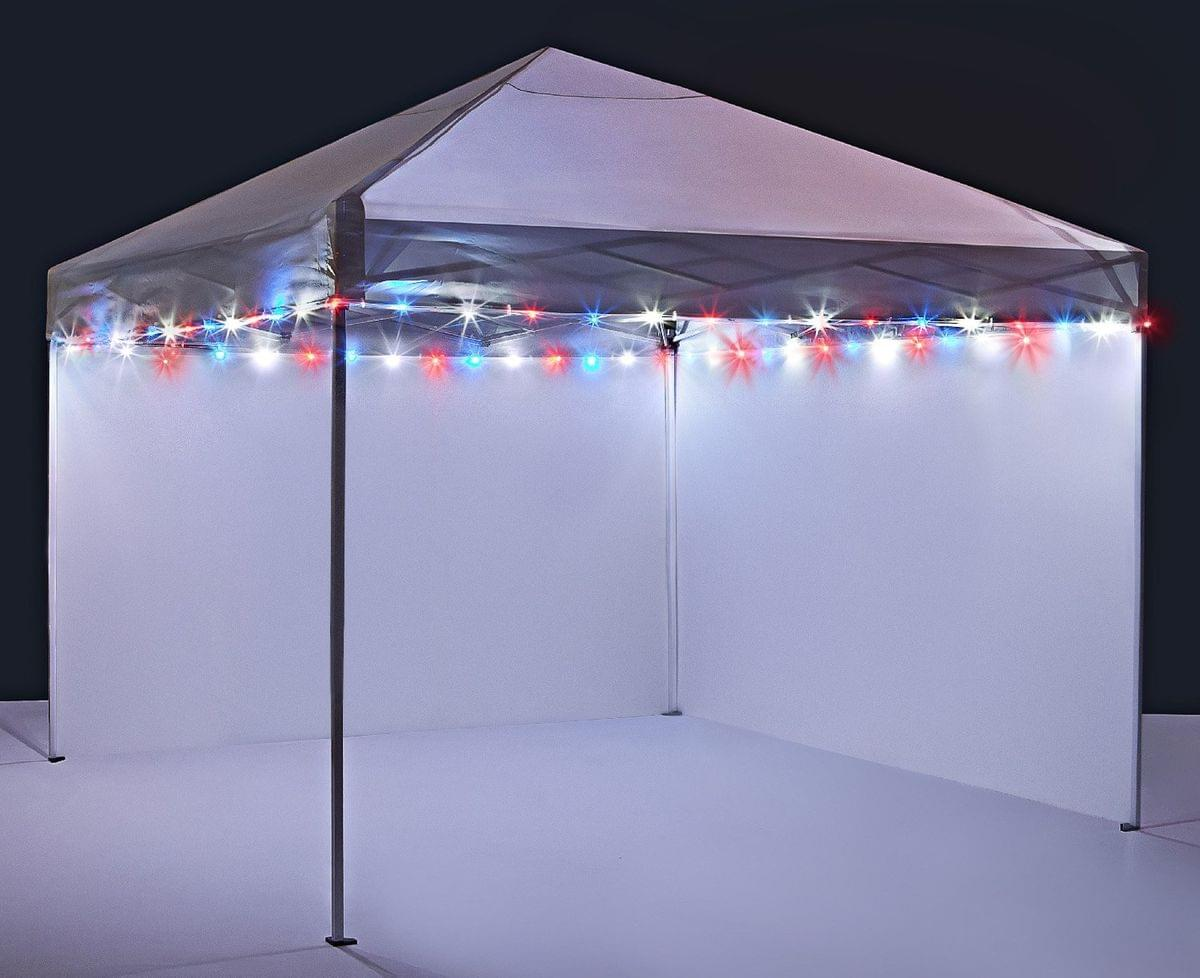 brightz outdoor canopy patio umbrella led lights patriotic