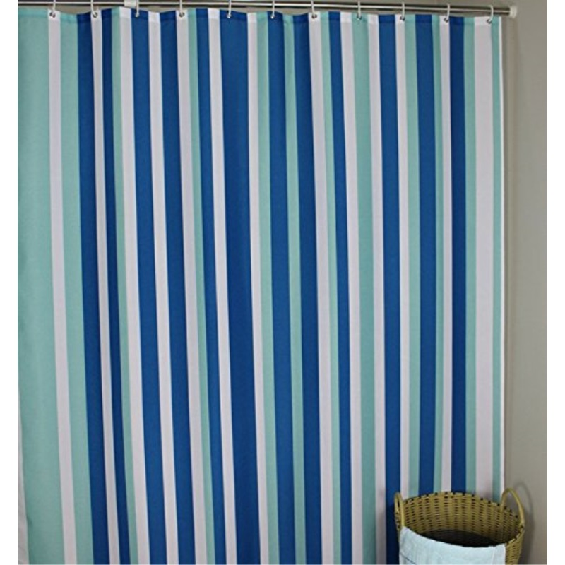 https www walmart com ip extra long 96 inches shower curtain welwo mildew resistant curtain liner fabric set waterproof antibacteral designed hooks 72 x 96 inch x long blue w 341136469
