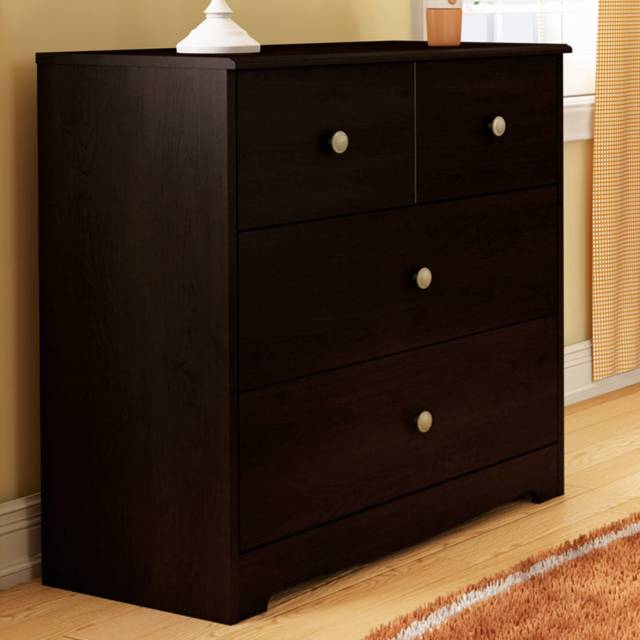 Sorelle Chandler 3 Drawer Dresser White Walmart