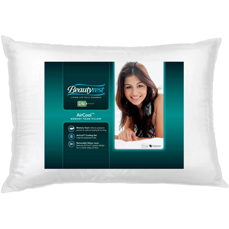 gel memory foam pillows walmart com