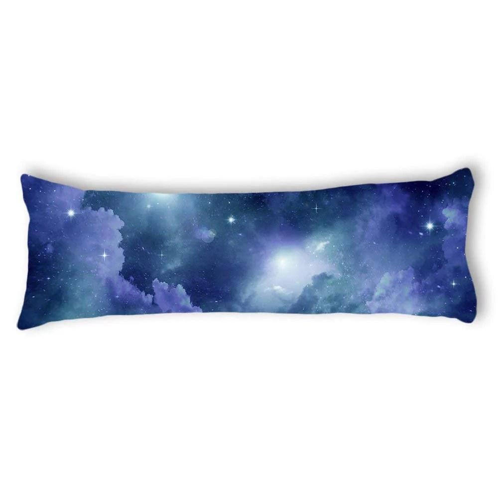 tayyakoushi space nebula universe pattern retro galaxy tribal machine washable body pillow cover custom body pillowcase decorative classical body