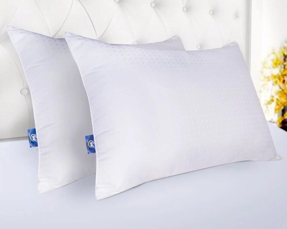 sertapedic won t go flat pillow set of 2 standard queen