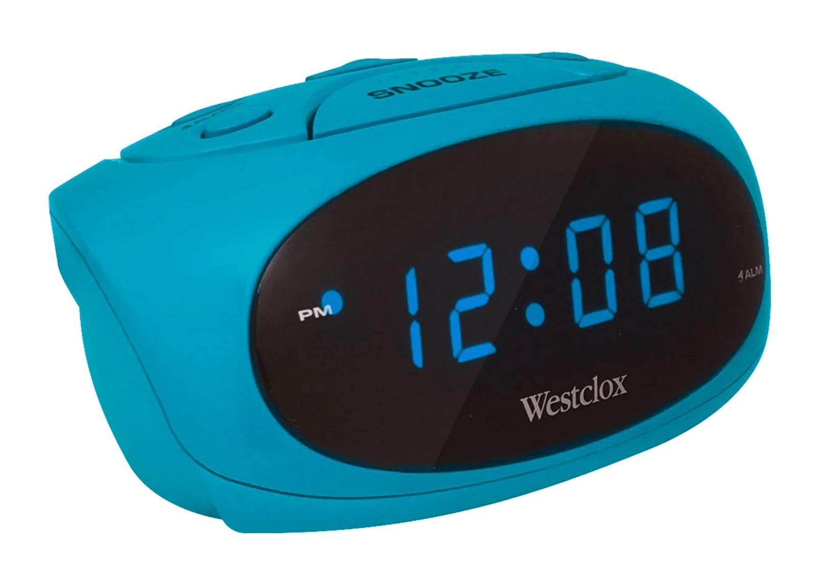 Westclox 70044a Super-loud Led Electric Alarm Clock black