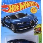 Hot Wheels 2019 Hw Exotics 7 10 16 Bugatti Chiron 236 250 Blue Walmart Com Walmart Com
