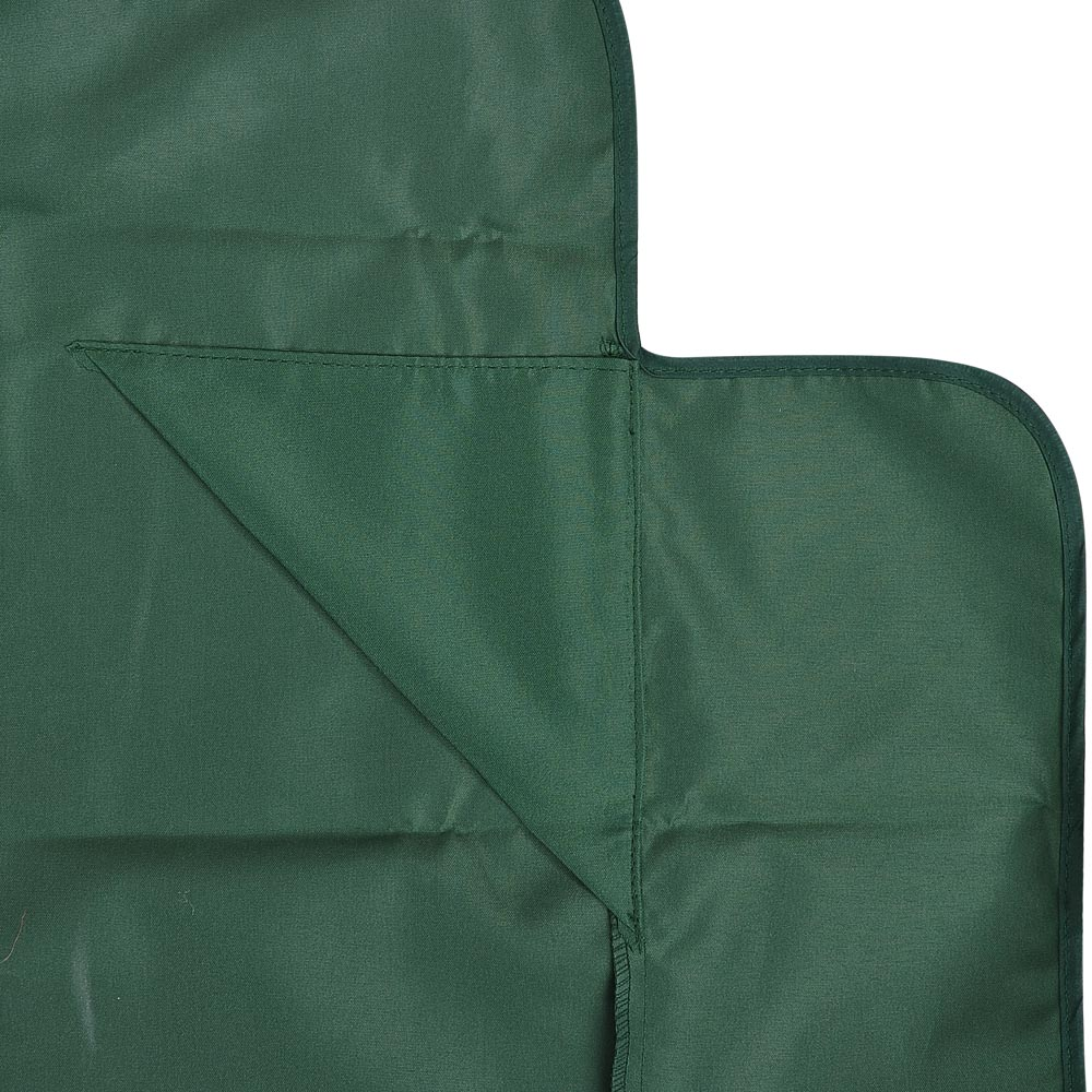 yescom 72 1 2 x 53 1 2 patio swing canopy replacement top cover green