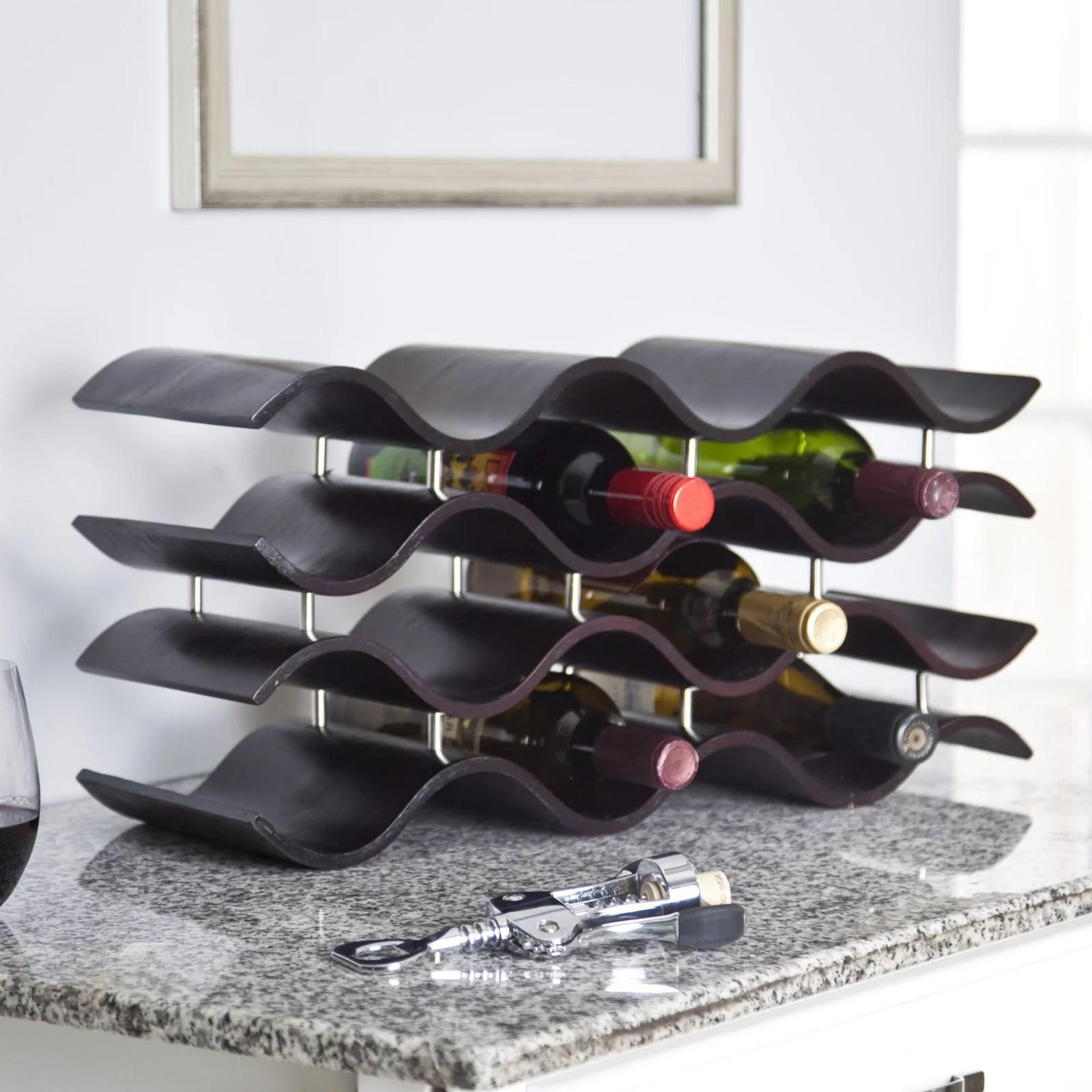 oenophilia bali 12 bottle wine rack