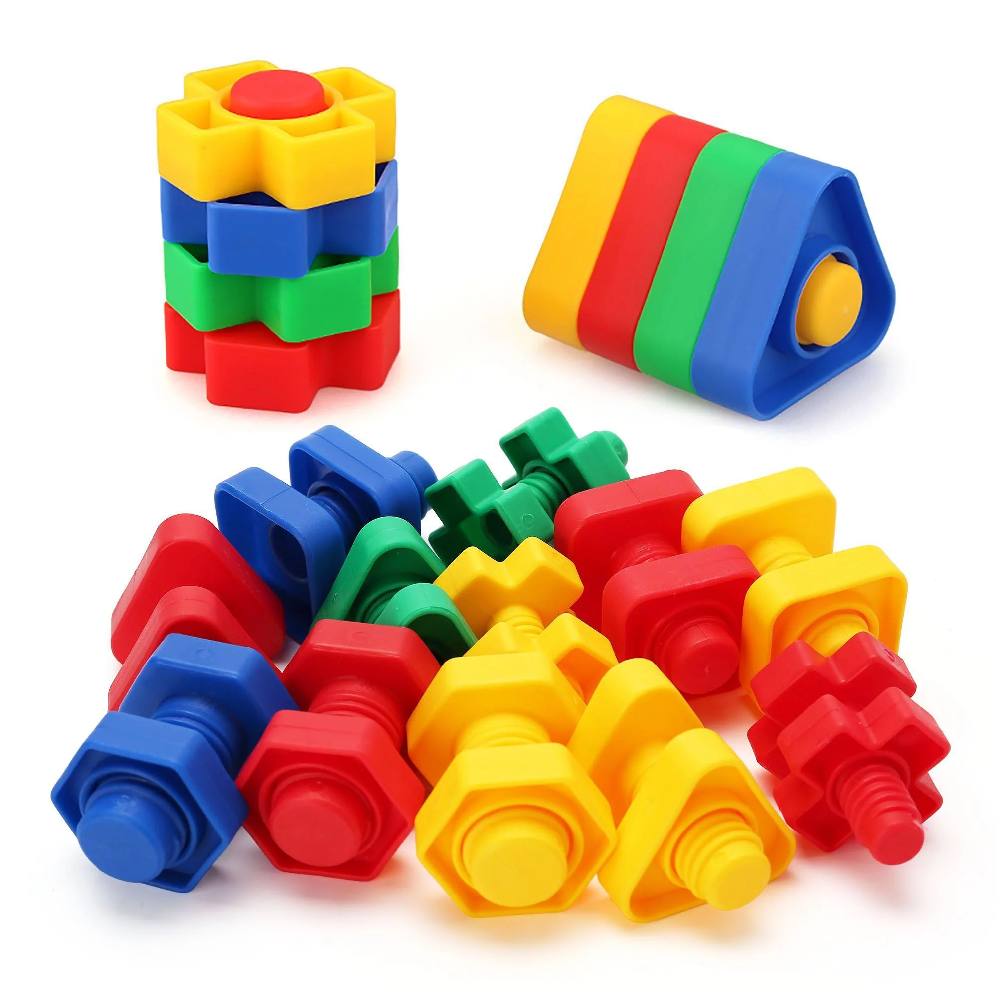 Jumbo Nuts And Bolts Toys For Toddler Kids Girls Boy