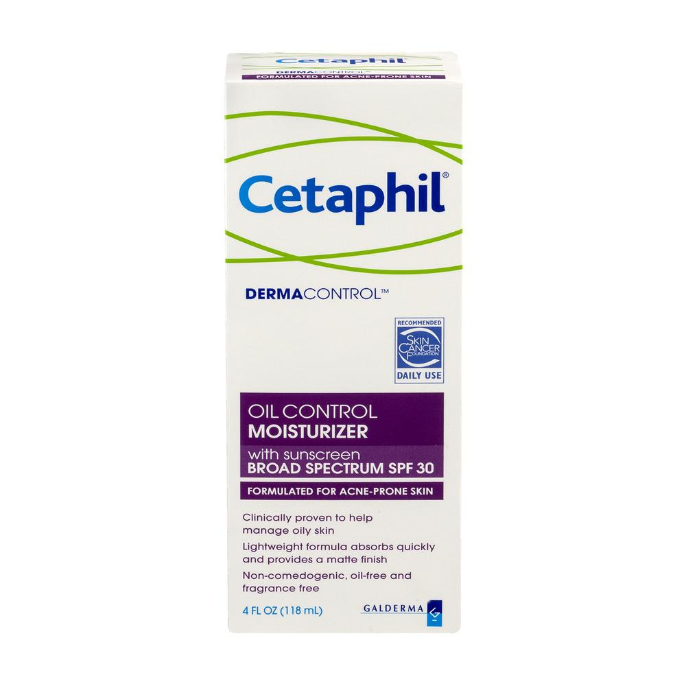 Cetaphil ® DermaControlâ ¢ Lotion Face Moisturizer, 4fl oz, SPF 30 (Acne-Prone Skin)
