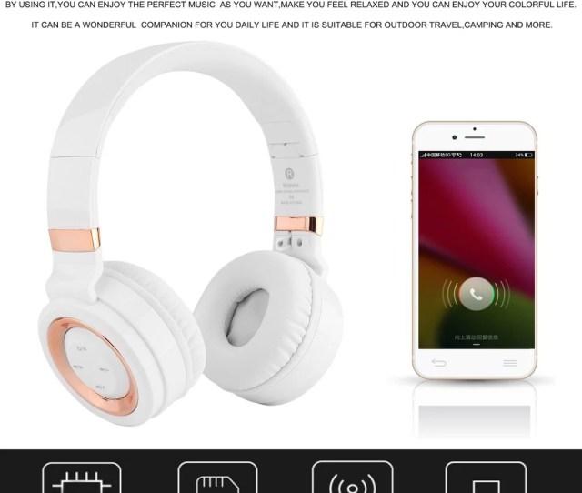 Bt Soundintone Over Ear Noise Canceling Wireless Bluet Ooth Headphones Foldable Headset Comfortable Stereo Music Earphone Walmart Com