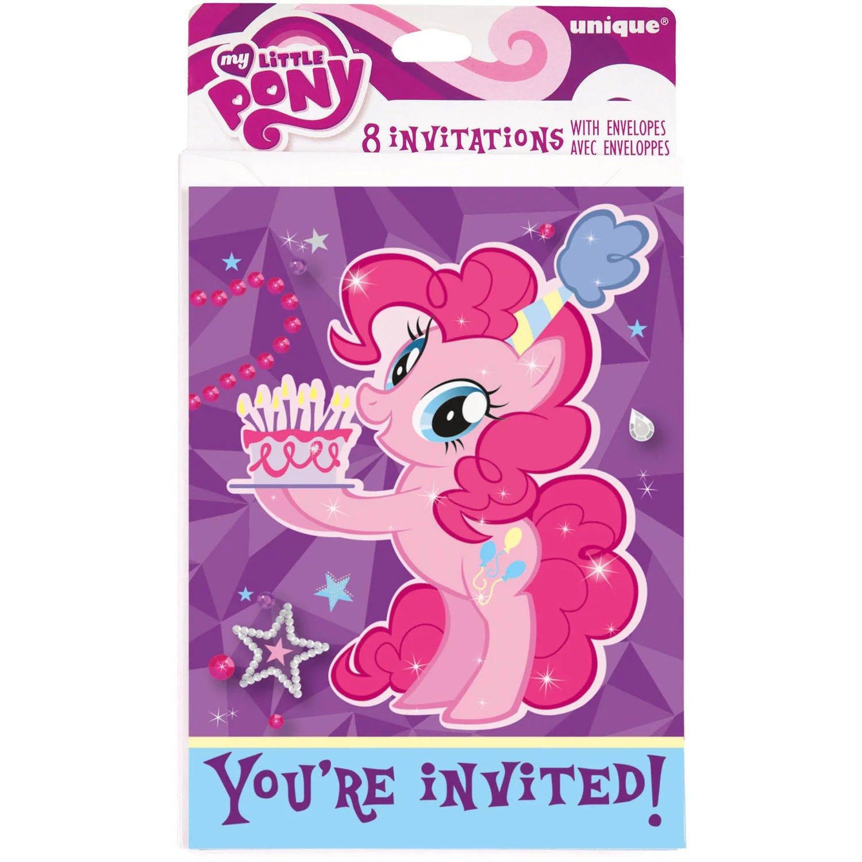 my little pony invitations 8ct walmart com