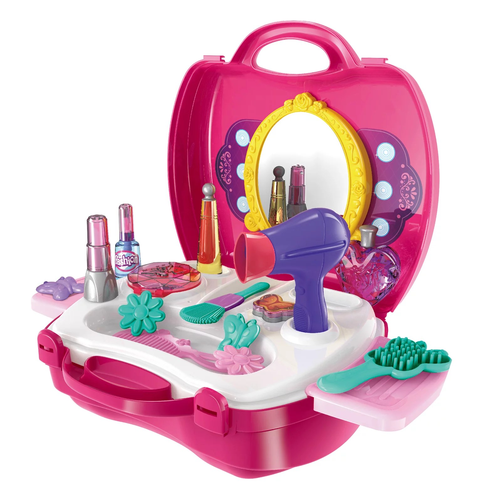 Make Up Case Little Girls Cosmetic Set Pretend Play