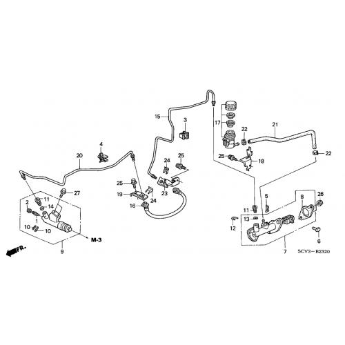 2001 honda accord exhaust system
