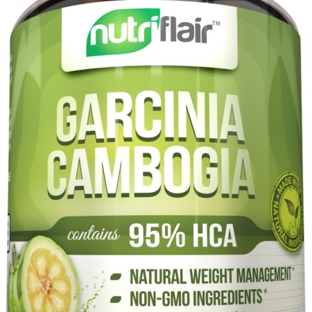 NutriFlair 95٪ HCA Pure Garcinia Cambogia، 90 كبسولة نباتية - 1400 مجم لكل وجبة NutriFlair 95٪ HCA Pure Garcinia Cambogia، 90 كبسولة نباتية – 1400 مجم لكل وجبة cbc5be18 6a5f 4a42 ade9 65a6ced84854 1