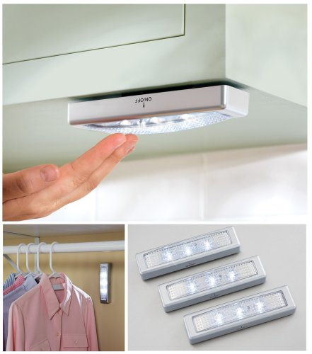 battery operated under counter lights set of 3