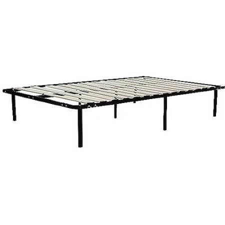 Wooden Slat Bed Frame Black