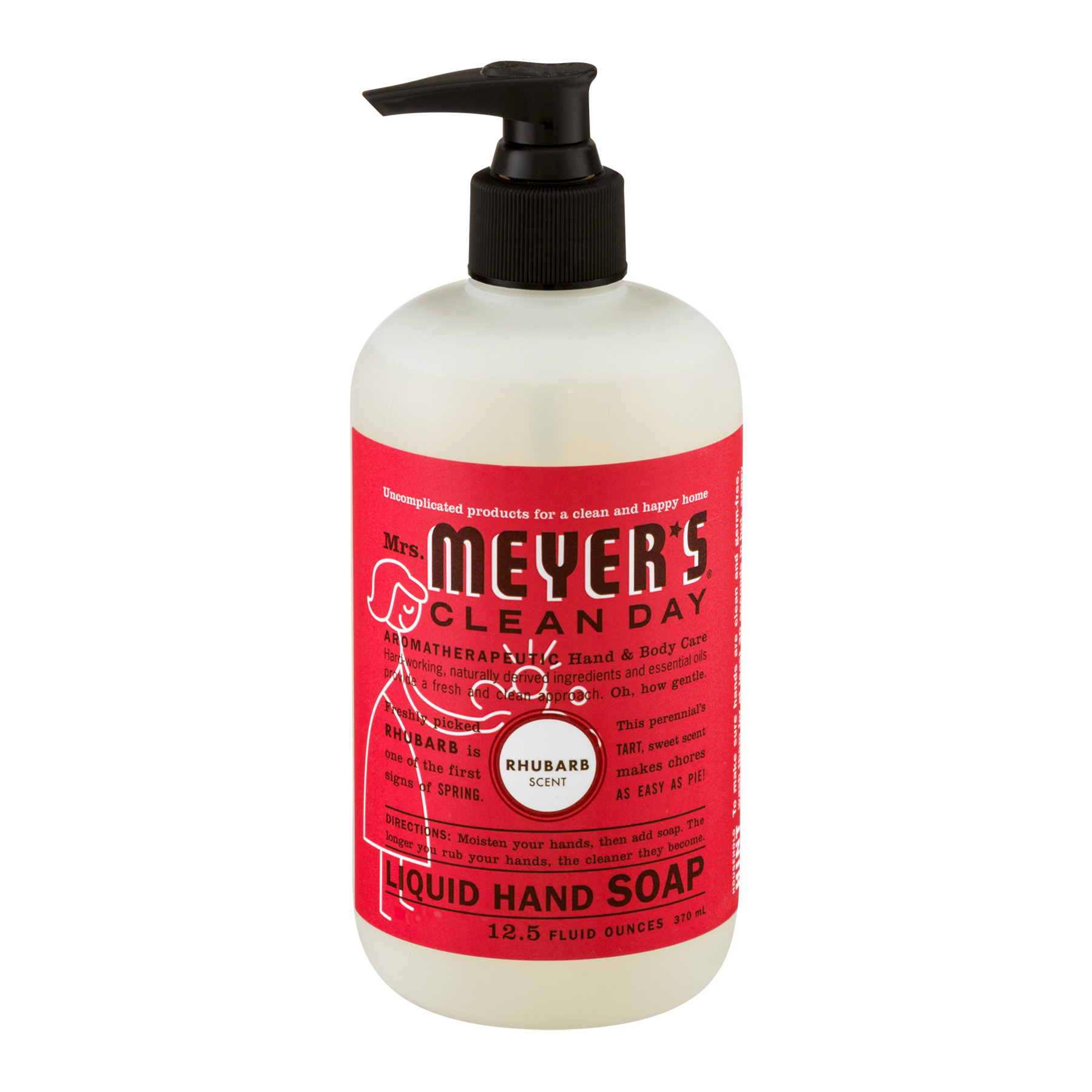 Mrs Meyer39s Liquid Hand Soap Rhubarb 125 Fl Oz