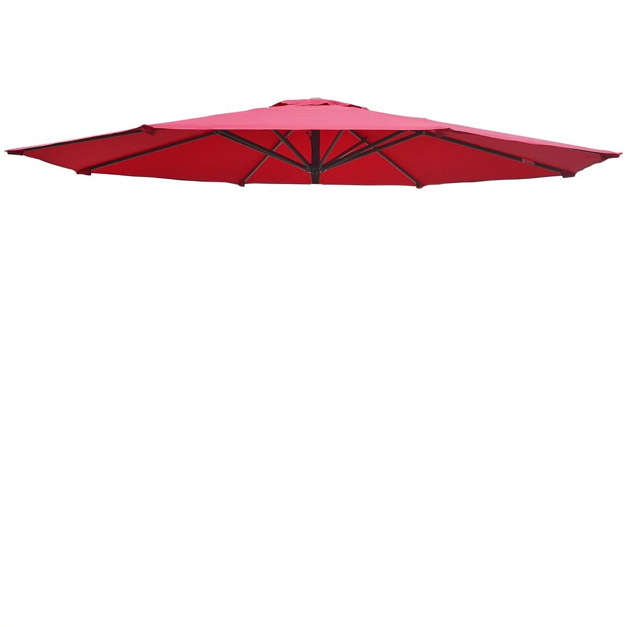 replacement patio umbrella canopy cover for 9ft 8 ribs umbrella burgundy canopy only