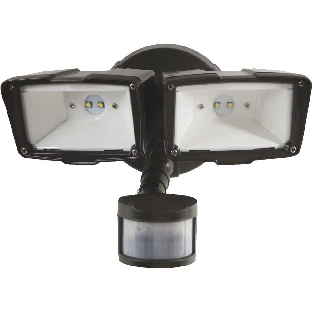 eaton lighting all pro mst18920l flood light with motion sensor led lamp 31 1 w 120 v 2090 lumens walmart com