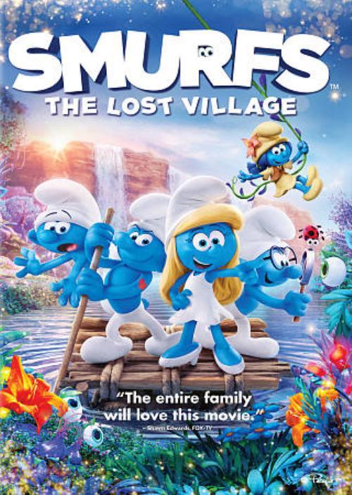 Smurfs The Lost Village Dvd Walmart Canada