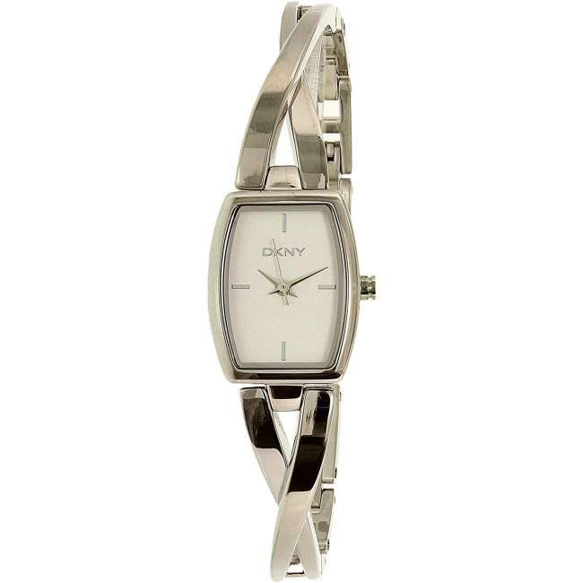 Dkny Women's Crosswalk NY2234 Silver Stainless-Steel Analog Quartz Fashion Watch