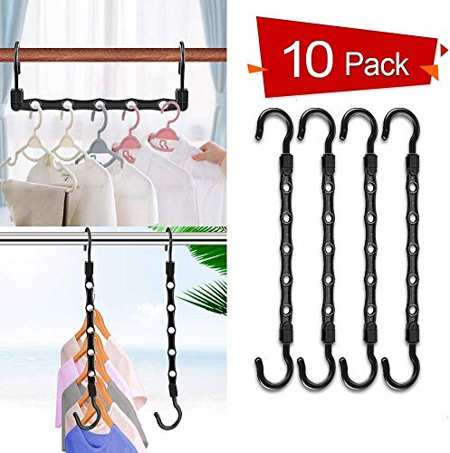 Koicaxy Magic Clothes Hangers, Smart Closet Space Saver ... on Closet Space Savers Walmart  id=94243