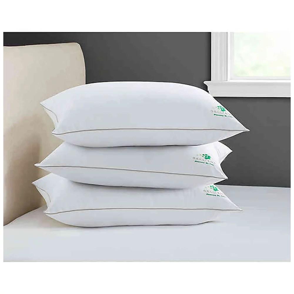 therapedic celliant medium support back side sleeper standard queen pillow