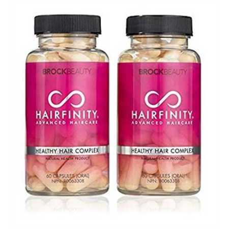 brock beauty hairfinity healthy hair vitamins 120 capsules 2 months supply walmart