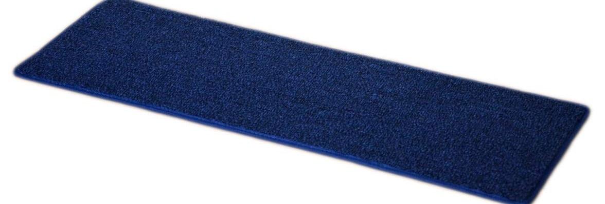 Dean Carpet Stair Treads 23 X 8 Navy Blue Set Of 13   Navy Blue Stair Treads   Wayfair   Non Slip   Longshore Tides   Rug Stair   Stair Runners