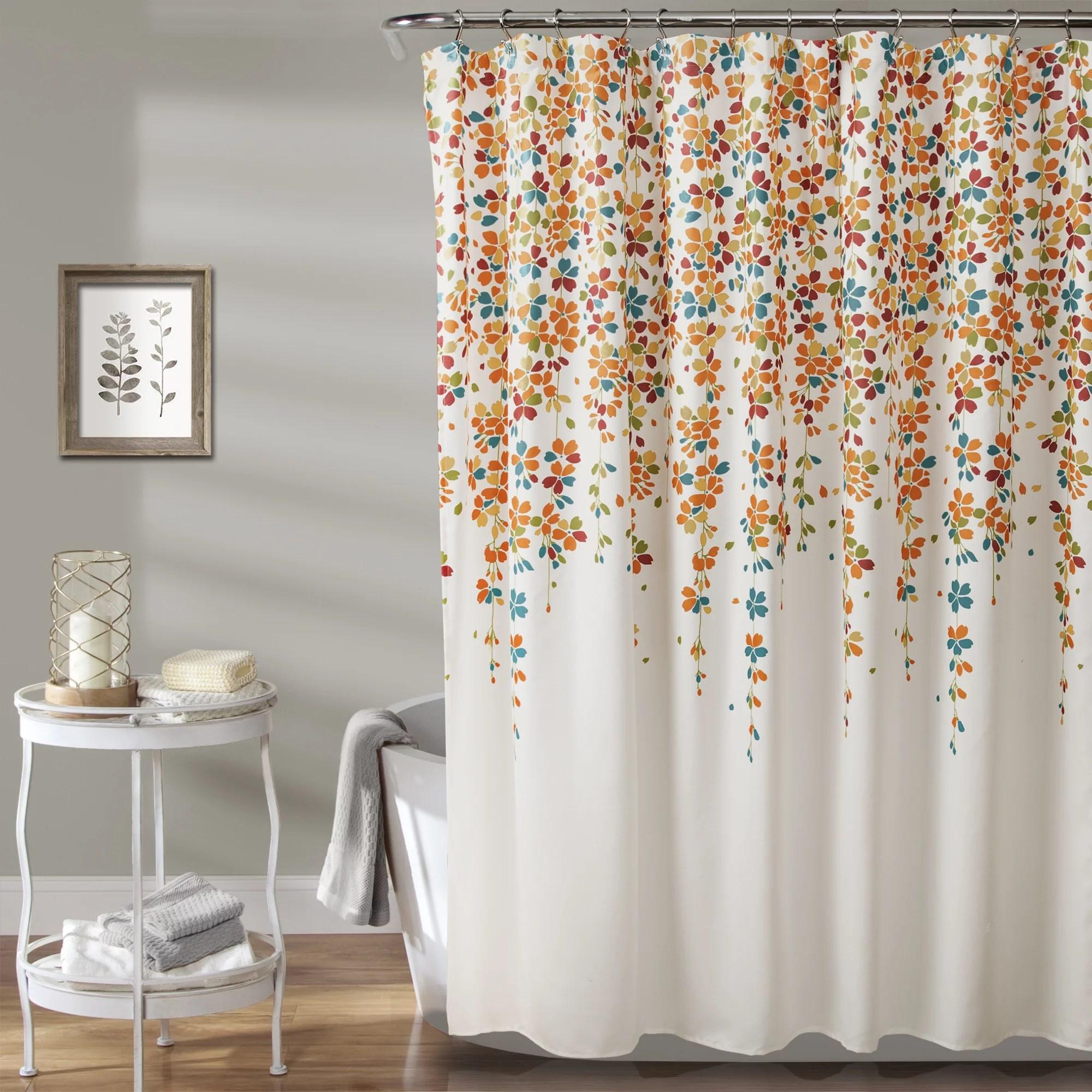 shower curtains walmart com orange