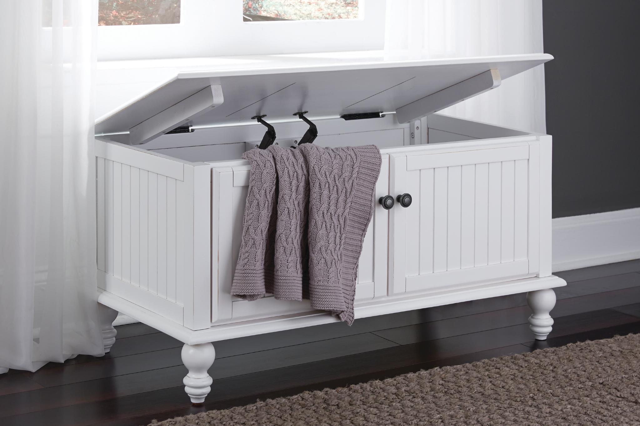 cottage unfinished blanket chest