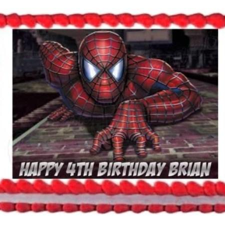 Cool Walmart Spiderman Cake Designs The Cake Boutique Funny Birthday Cards Online Elaedamsfinfo