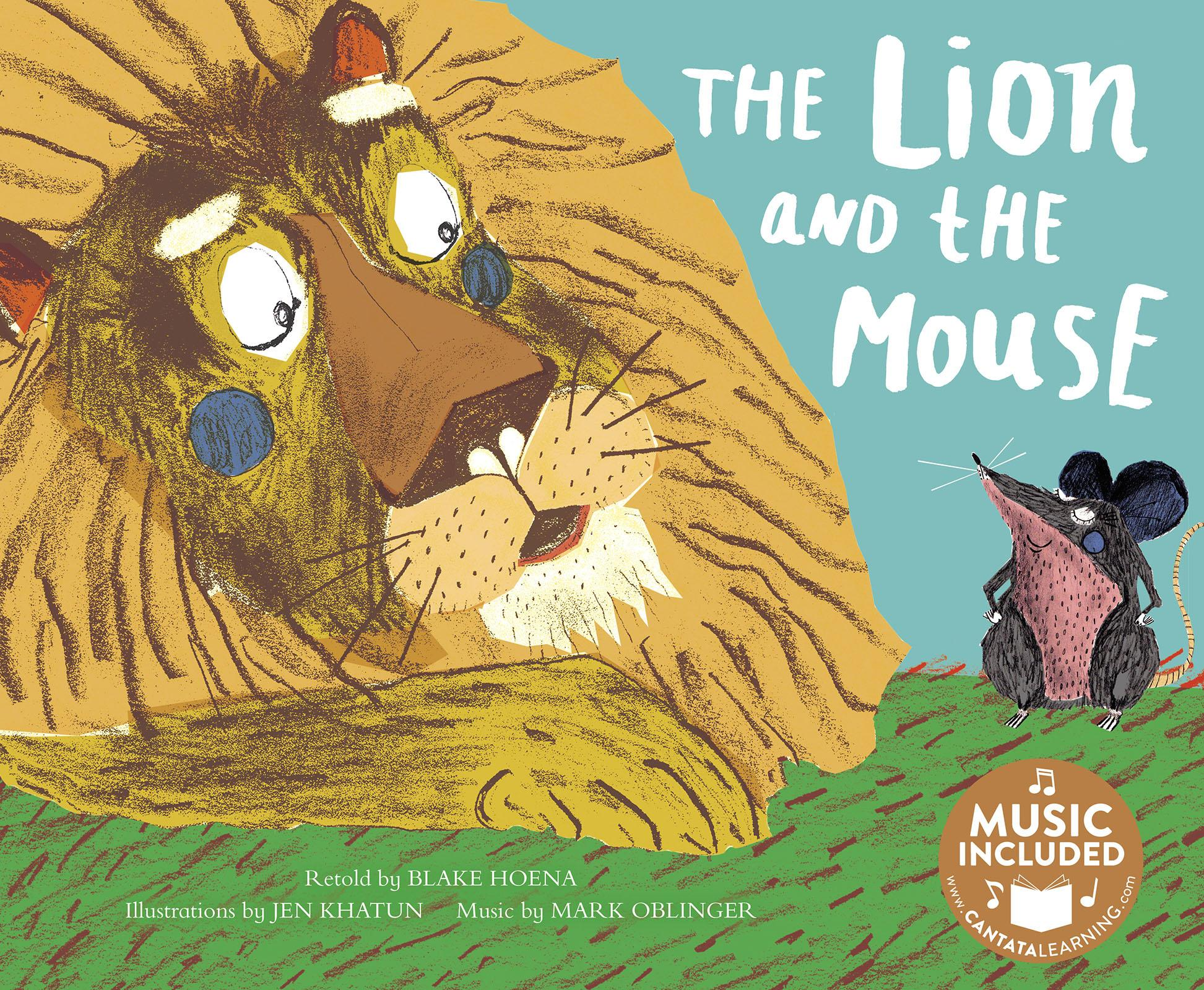 Classic Fables In Rhythm And Rhyme The Lion And The Mouse