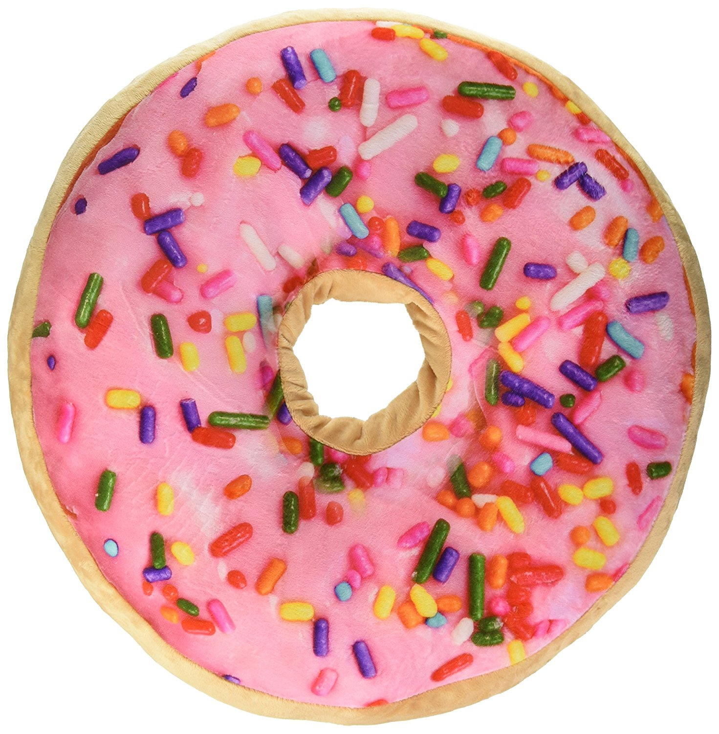 scented sprinkle donut 16 pillow strawberry