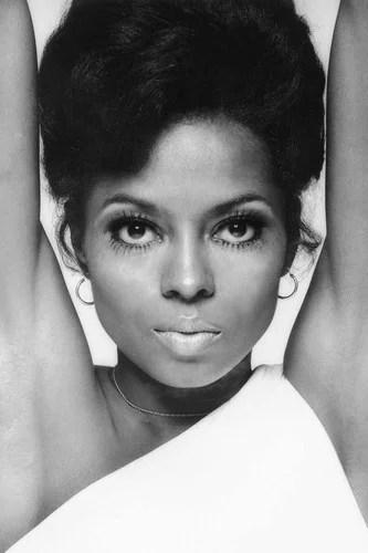 diana ross striking portrait 1970 s 24x36 poster