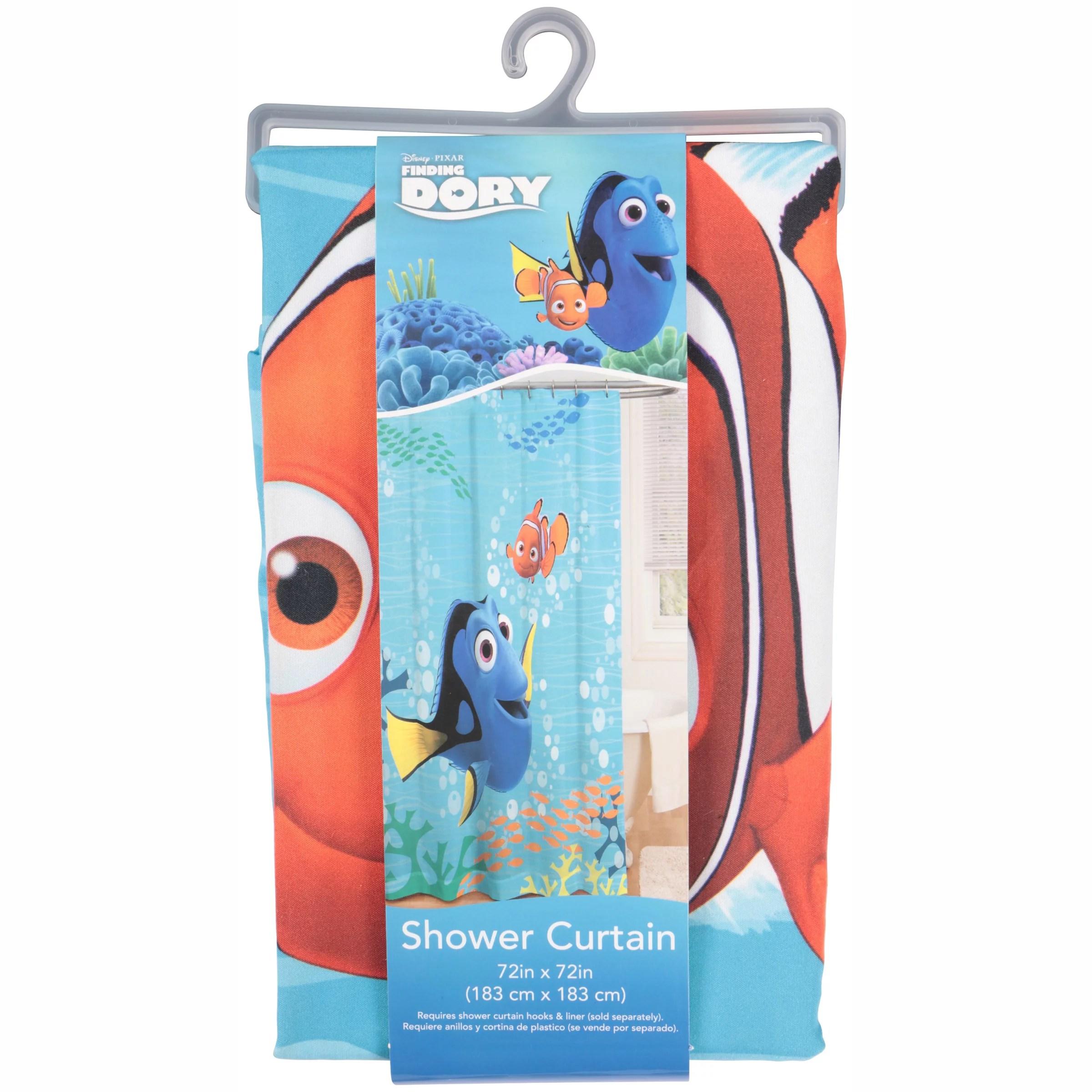 disney pixar finding dory shower curtain 1 each