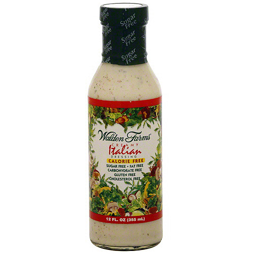 Walden Farms Creamy Italian Dressing 12 oz Pack of 6