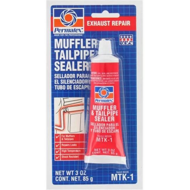 permatex 4 5 oz muffler tailpipe sealer 80335
