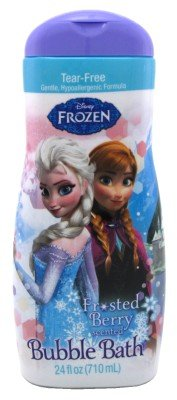 Disney Frozen Frosted Berry Scented Bubble Bath 24 Fl Oz