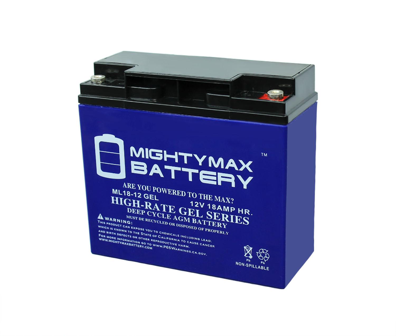 12V 18AH GEL Battery for BMW K1200LT K1200RS Motorcycle ...