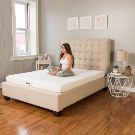 Modern Sleep Cool Gel Memory Foam 6 Inch Mattress Multiple Sizes