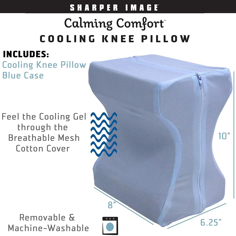 Calming Comfort Cooling Knee Pillow As Seen On Tv Walmart Com Walmart Com