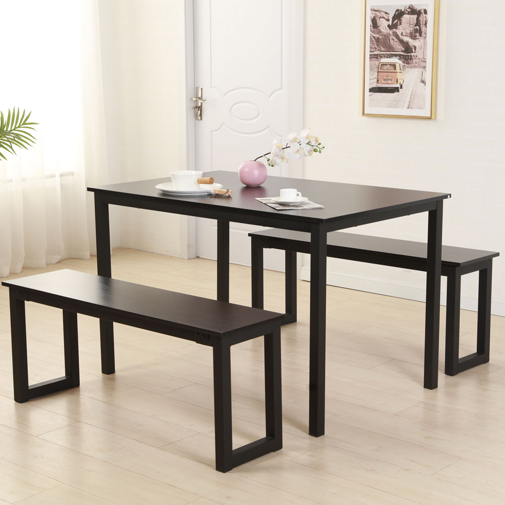 clearance 3 piece dining table set breakfast nook dining on dining room sets on clearance id=14191