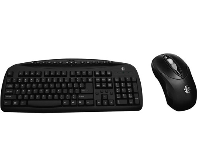 I Concepts Wireless Desktop Keyboard And Optical Mouse Combo Pack