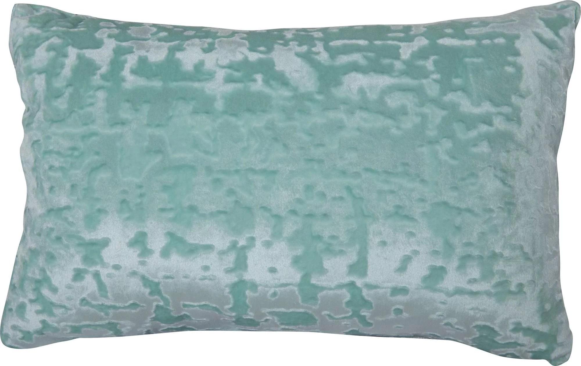 mainstays velvet oblong decorative throw pillow mint