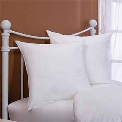 26x26 down alternative square euro pillow insert 400tc