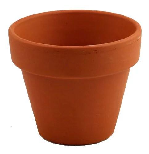 5 5 Clay Pots Great For Plants And Crafts Walmart Com Walmart Com