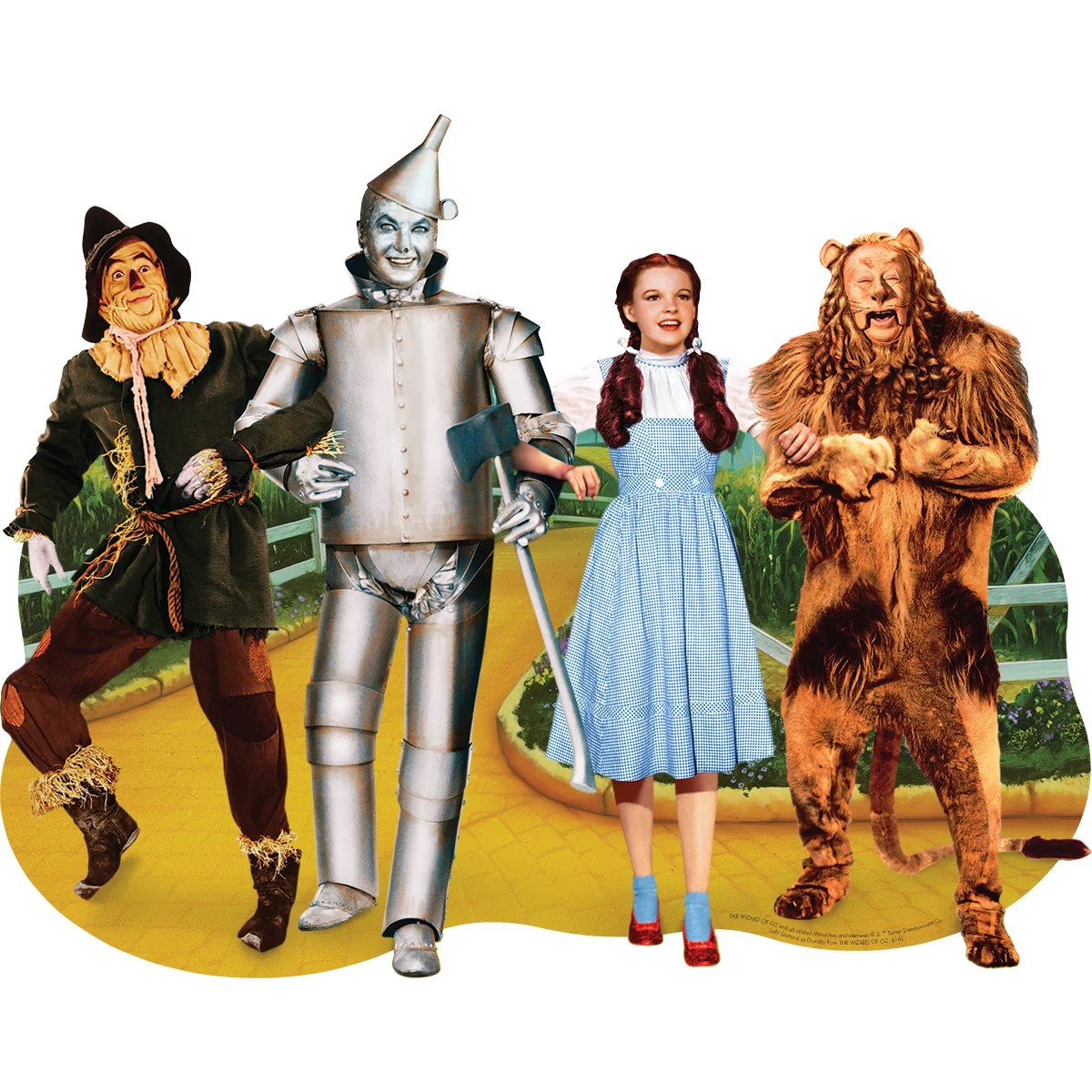 Jigsaw Shaped Puzzle 478 Pieces 33 X27 The Wizard Of Oz