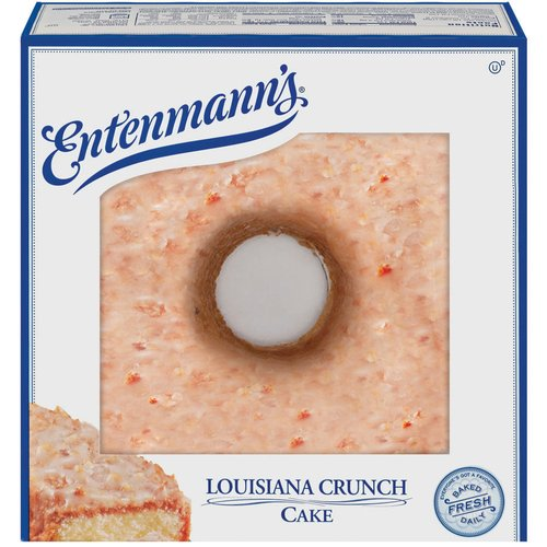 Entenmann39s Louisiana Crunch Cake 22 oz Walmartcom