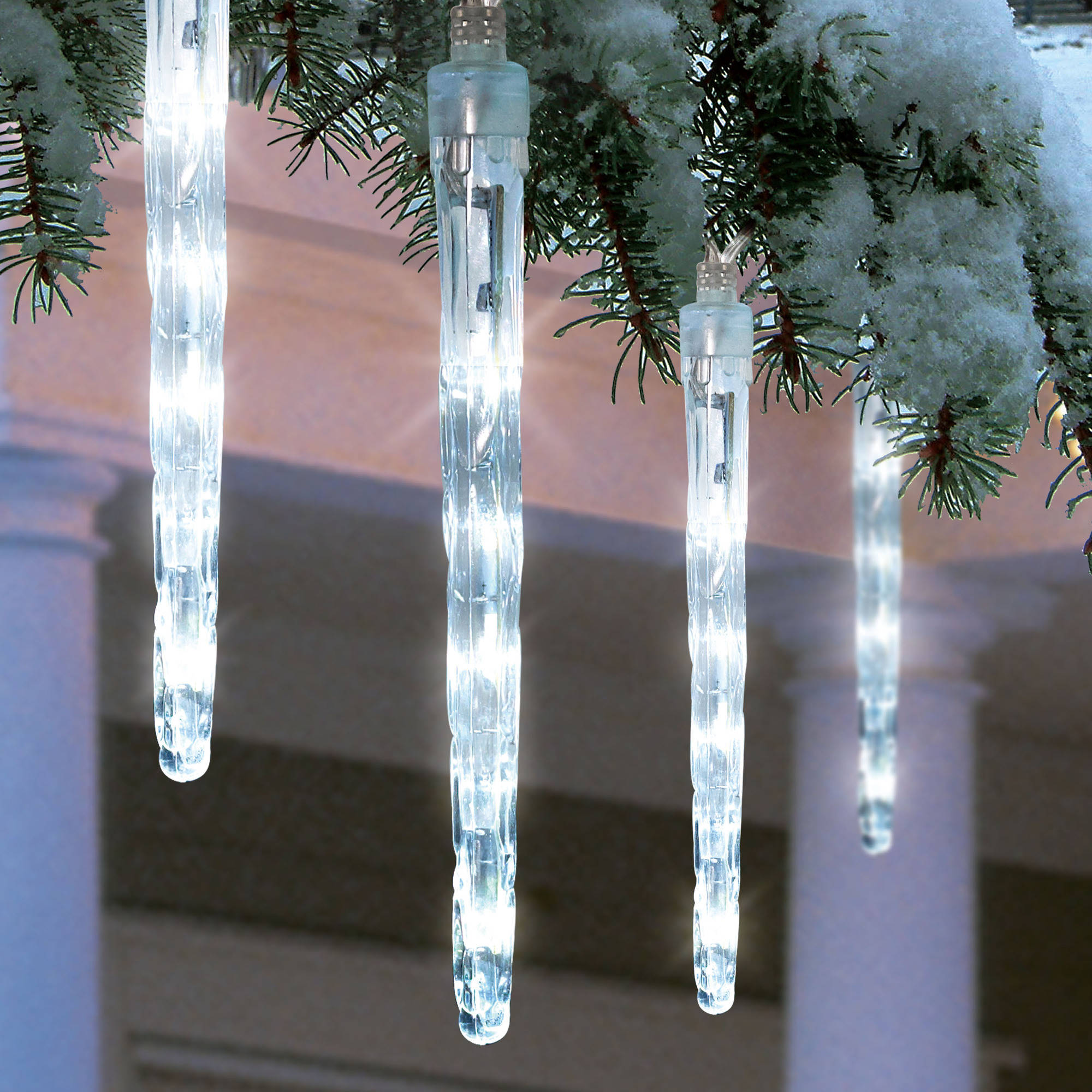 Led Icicles Christmas Lights