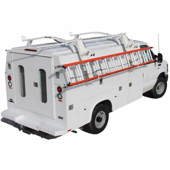 kargomaster k47 47993 covered body drop down ladder racks walmart com